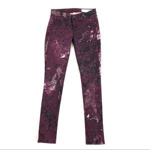 Rag & Bone/Jean Legging in Galaxy color size 26